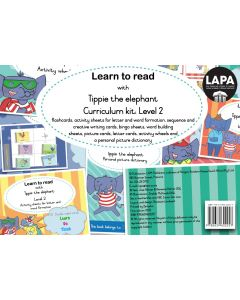 Tippie: Learn to read (Level 2) Curriculum kit